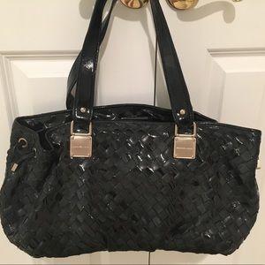 ♥️ Michael Kors Black Woven Bag